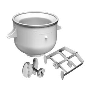 Kitchen Aid KICA0WH Ice Cream Maker Stand Mixer Attachment