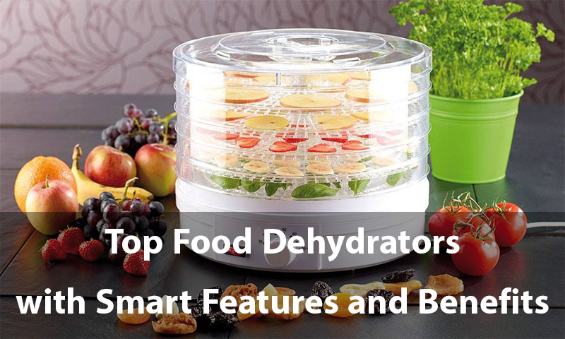 Top Food Dehydrators with Smart Features and Benefits